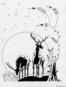 Dibujo artistico - El Pastelista-ciervos.jpg