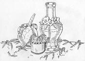 Dibujo artistico - El Pastelista-miel.jpg