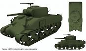 2ª actividad Videojuegos: Vehiculo Terrestre Lowpoly-tanque.jpg