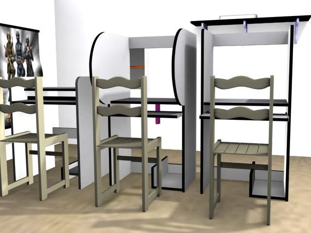 Tema muebles de cybercafe
