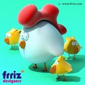 Una gallina con sus polluelos-hen.jpg