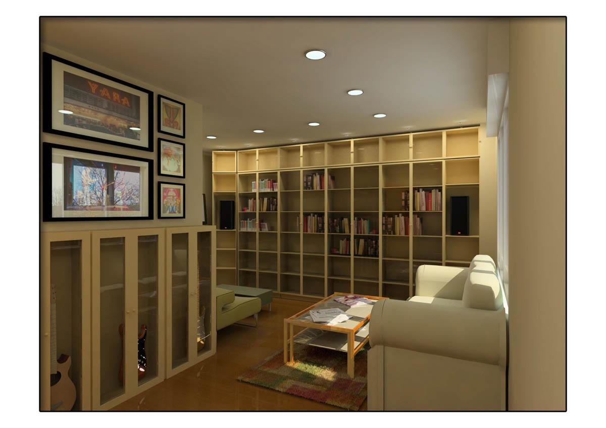 Libreria Con Puertas De Cristal Free Librera En Roble Claro Con  ~ Libreria Con Puertas De Cristal