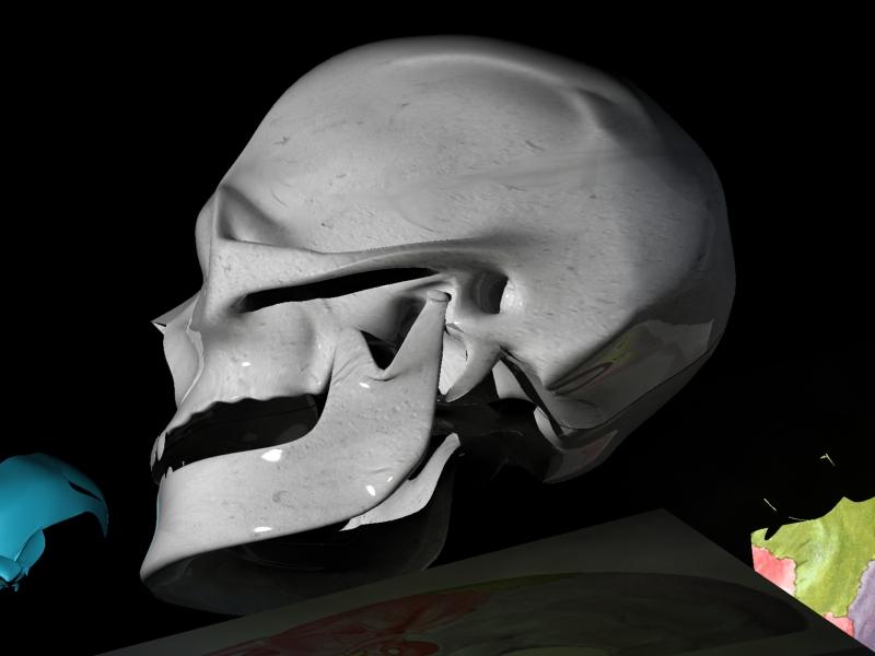 Medico en aprietos:texturas para anatomía