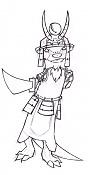 Progresos de Mailus-vaako-samurai-tinta.jpg