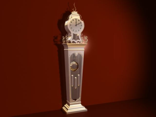Reloj de laton - Reloj para salon ...