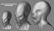 Otra vez   ZBrush Cabeza alien  a colol -alien_02.jpg