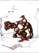Dibujos rapidos , Bocetos  y apuntes  en papel -raro2.jpg