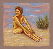 Dibujo artistico - El Pastelista-120-playa.jpg