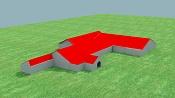 Césped hierba grama musgo con Vray-casa-exterior.jpg