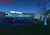 Infoarquitectura::Bucle-plaza-cautiva-noche-01.jpg