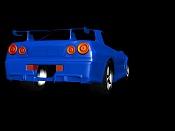 como modelo un faro delantero de un auto, y el trasero -skyline02.jpg