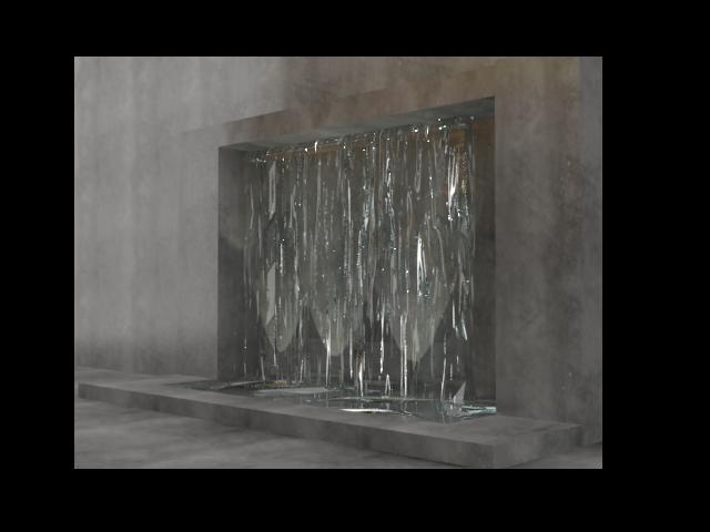 Cortina de agua y espejo de agua - Como construir una cortina de agua ...