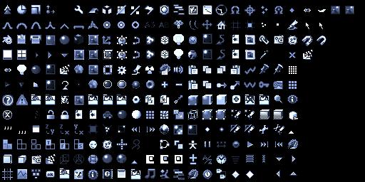 iconos de blender