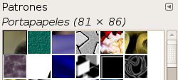 Glosario de Gimp-patterns-dialog-clipboard.png