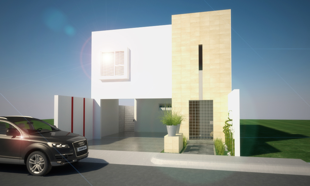 Fachadas de casas pequenas mexicanas yakaz inmobiliario for Disenos de fachadas de casas pequenas