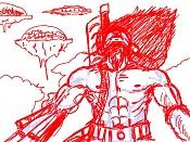 sketchs y algunos dibujos a tableta rapidos-hombremaquina.jpg