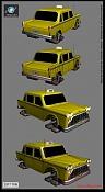 2ª actividad Videojuegos: Vehiculo Terrestre Lowpoly-taxi_final_1_3dpoder.jpg