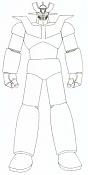 Primer intento, Mazinger Z WIP-dibujo.jpg