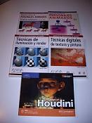 Libros de 3D  Blender, XSI, Houdini -libros_varios.jpg