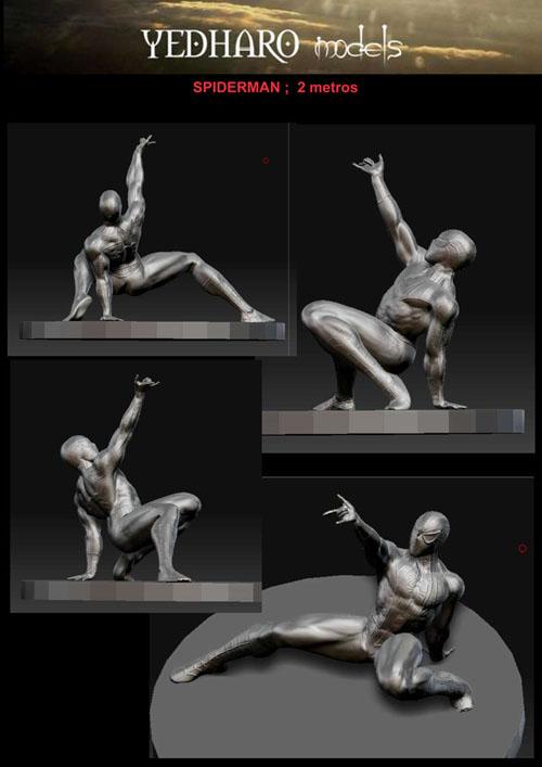 MEGa esculturas MaRVEL    -yedharo_marvel_04.jpg