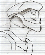 Dibujos rapidos , Bocetos  y apuntes  en papel -toc012.jpg