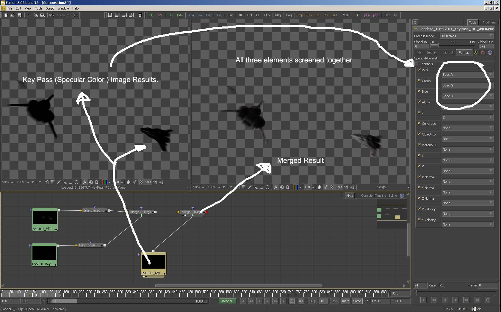 Making a space scene the Battlstar Galactica Way using Lightwave3D-keypassspec_merged.jpg