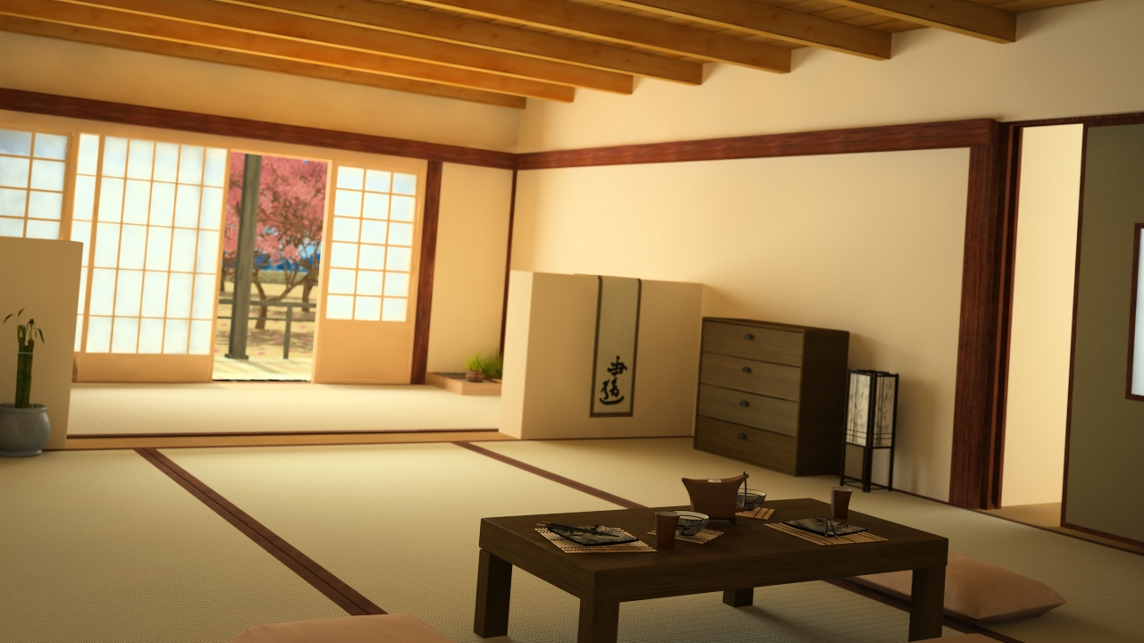 Casa japonesa - Casa tradicional japonesa ...