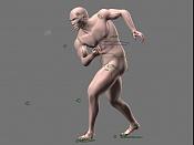 Escultura humana Rig gratuito  desnudez, planeando rig de musculos reales, BlenRig -poseh.jpg