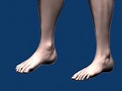 Escultura humana Rig gratuito  desnudez, planeando rig de musculos reales, BlenRig -pies1.jpg