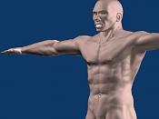Escultura humana Rig gratuito  desnudez, planeando rig de musculos reales, BlenRig -3.jpg