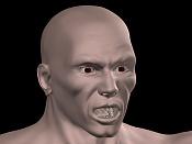 Escultura humana Rig gratuito  desnudez, planeando rig de musculos reales, BlenRig -face.jpg