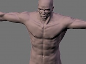 Escultura humana Rig gratuito  desnudez, planeando rig de musculos reales, BlenRig -4.jpg