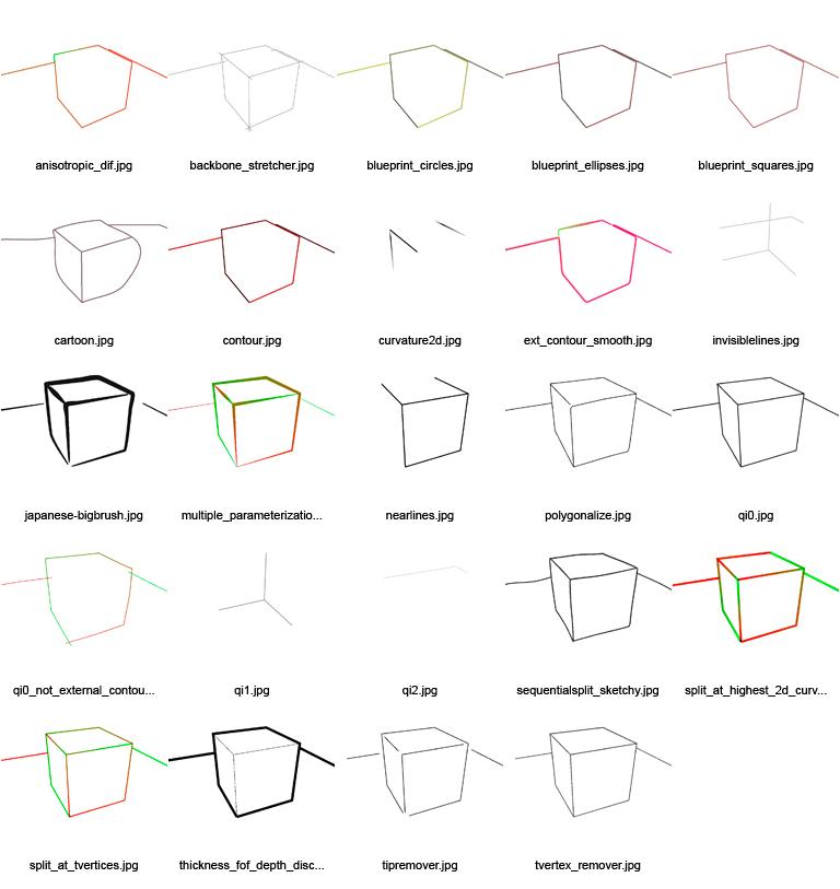 Blender 2 48  Release y avances -freestyle-examples.jpg