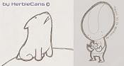 Dibujos rapidos , Bocetos  y apuntes  en papel -sketches_herbiecans_5_9_08.jpg