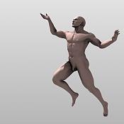 Escultura humana Rig gratuito  desnudez, planeando rig de musculos reales, BlenRig -render2wd6.jpg