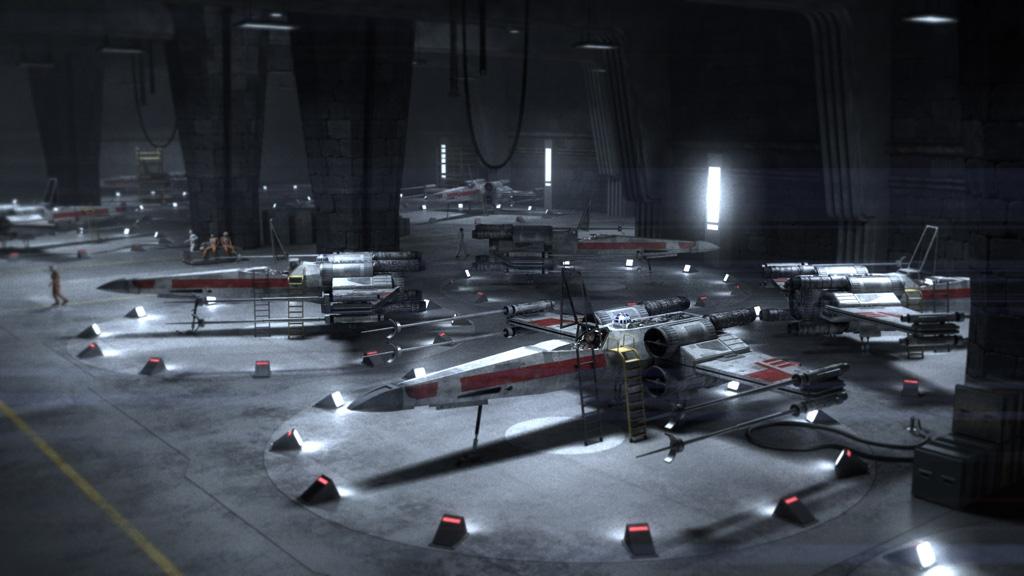 Hangar X Wing