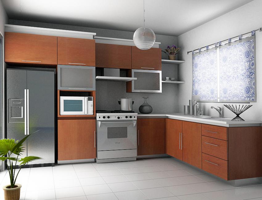 Cocina en residencial villitas - Cocinas en 3d ...