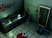 Resident Evil: The Blender Chronicles -umbrellascene.jpg