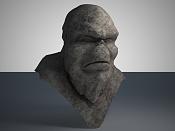 Troll en zbrush  Mis inicios -busto_piedra0.jpg