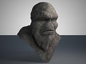 Troll en zbrush  Mis inicios -busto_piedra1.jpg