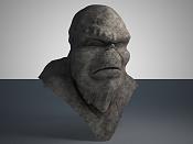 Troll en zbrush  Mis inicios -busto_piedra2.jpg