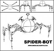 una araña mecanica   -spiderbot2.jpg