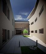 Interior comisaria: ambient occlusion y brute force    -patio2.jpg