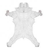 aprendiendo a usar Blender-unwrap-spiderman.jpg