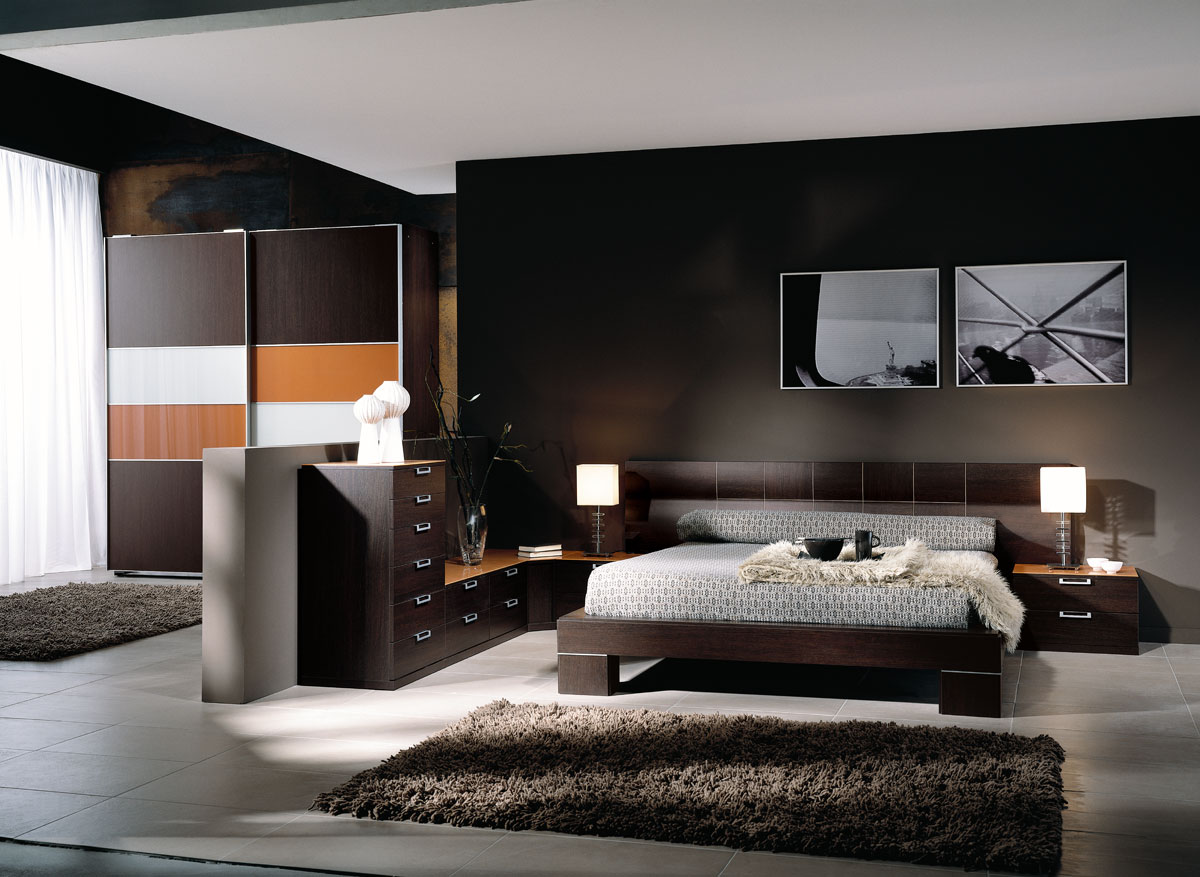 Habitacion moderna maya for Muebles design
