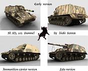 Sd Kfz  165 Hummel   Early version  -hummels.jpg