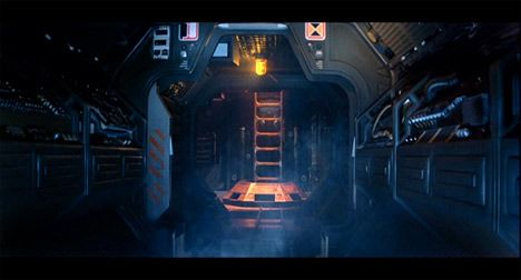 Interior nave for Interior nave espacial