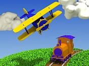 Juguetes de madera  avion y tren -avion_y_tren_de_juguete.jpg