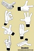 modelado,rigging y skinning de una mano tipo cartoon-manos-8-poses.jpg