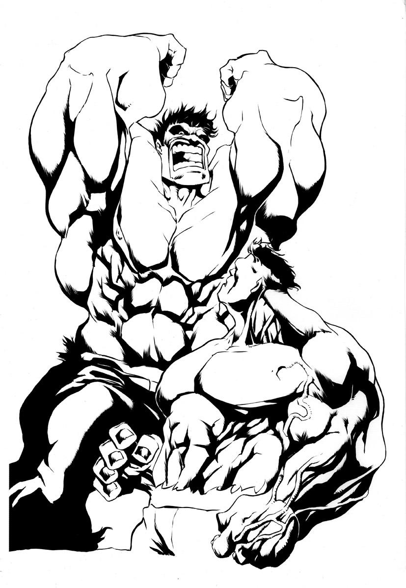 Moderno Hulk Para Colorear Fotos - Enmarcado Para Colorear ...